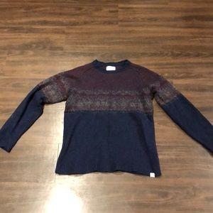 J Crew x Norse Project Fair Isle sweater